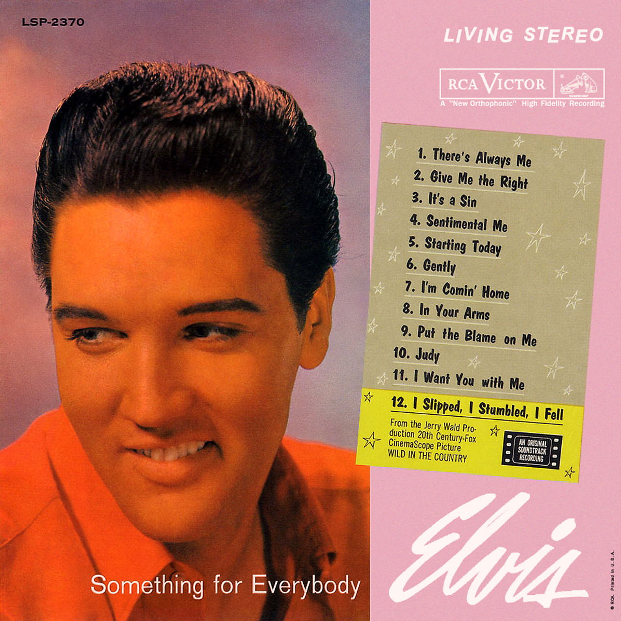 Something for Everybody by Elvis Presley | Arena Music
