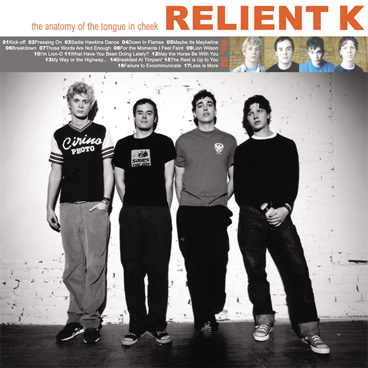 The Anatomy Of The Tongue In Cheek By Relient K Arena Music